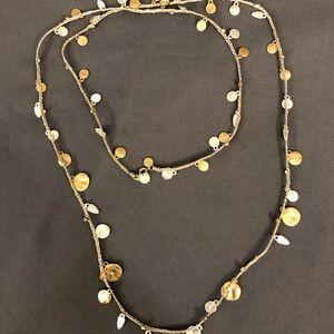 Stella & Dot Setta Medallion Necklace